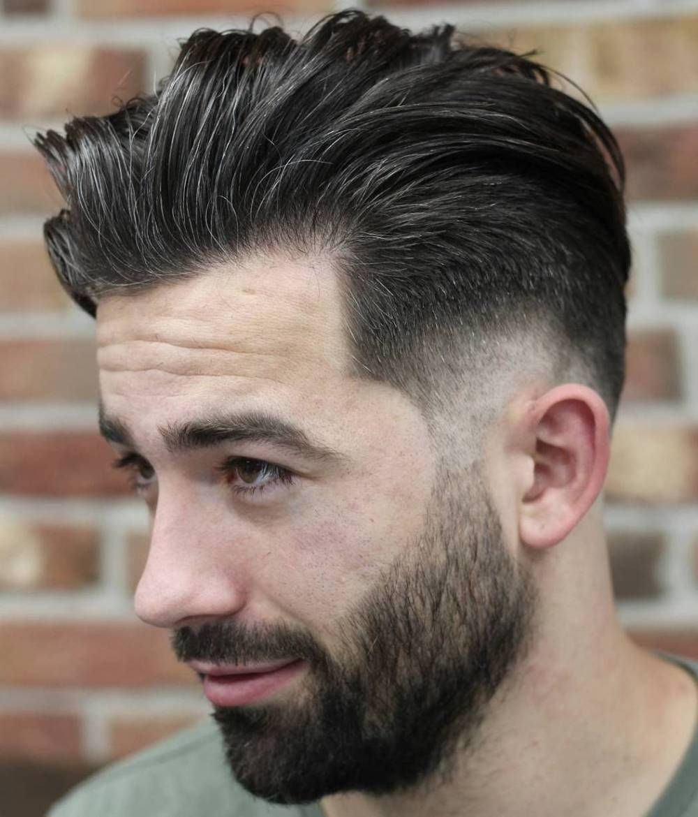 Haircut styles short on sides long on top  stylish low fade haircuts for men  haircuts  pinterest  side