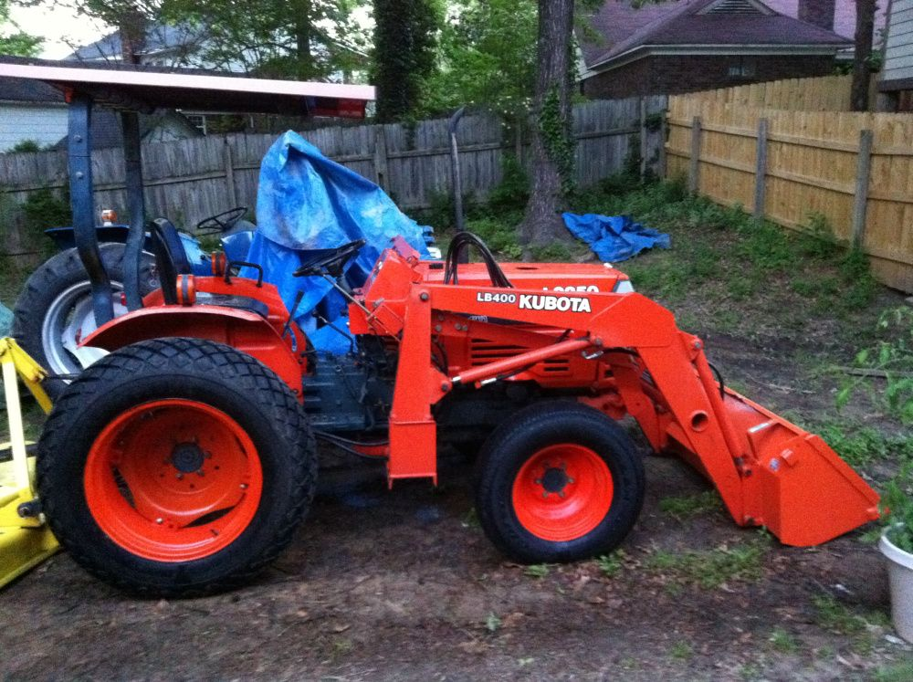 1995 kubota l2350 4wd wloader tractor and heavy equipment 1995 kubota l2350 4wd wloader arlington tractors fandeluxe Choice Image