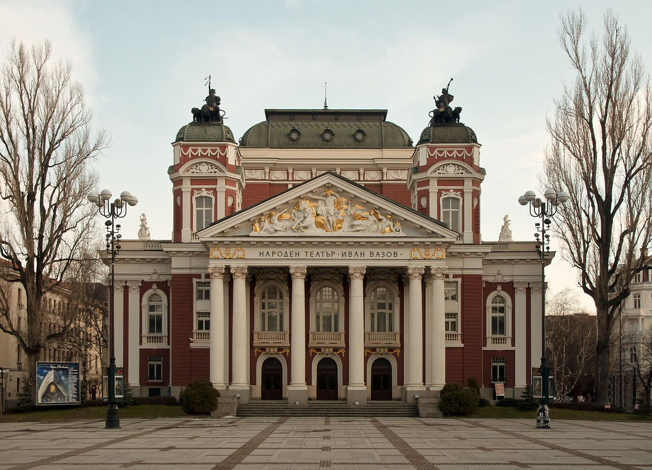 The Ivan Vazov National Theatre Located In The Centre Of Sofia Is The National Theatre Of Bulgaria It Is Named After T National Theatre Bulgaria Photo Spots