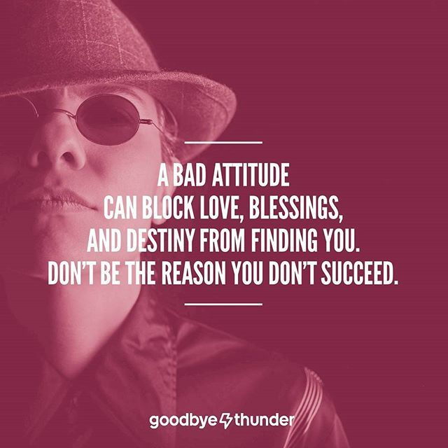 Attitude is what you think and do after you breakup with your ex ...