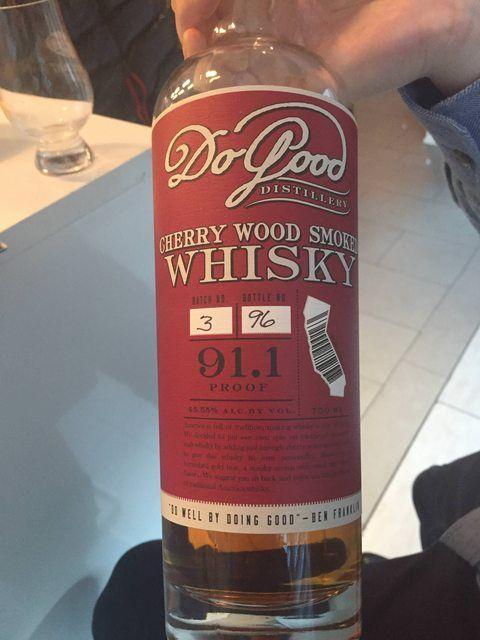 Review 5 Do Good Cherrywood Smoked California Single Malt Spirit Http Ift Tt 2kawvxs Borbon