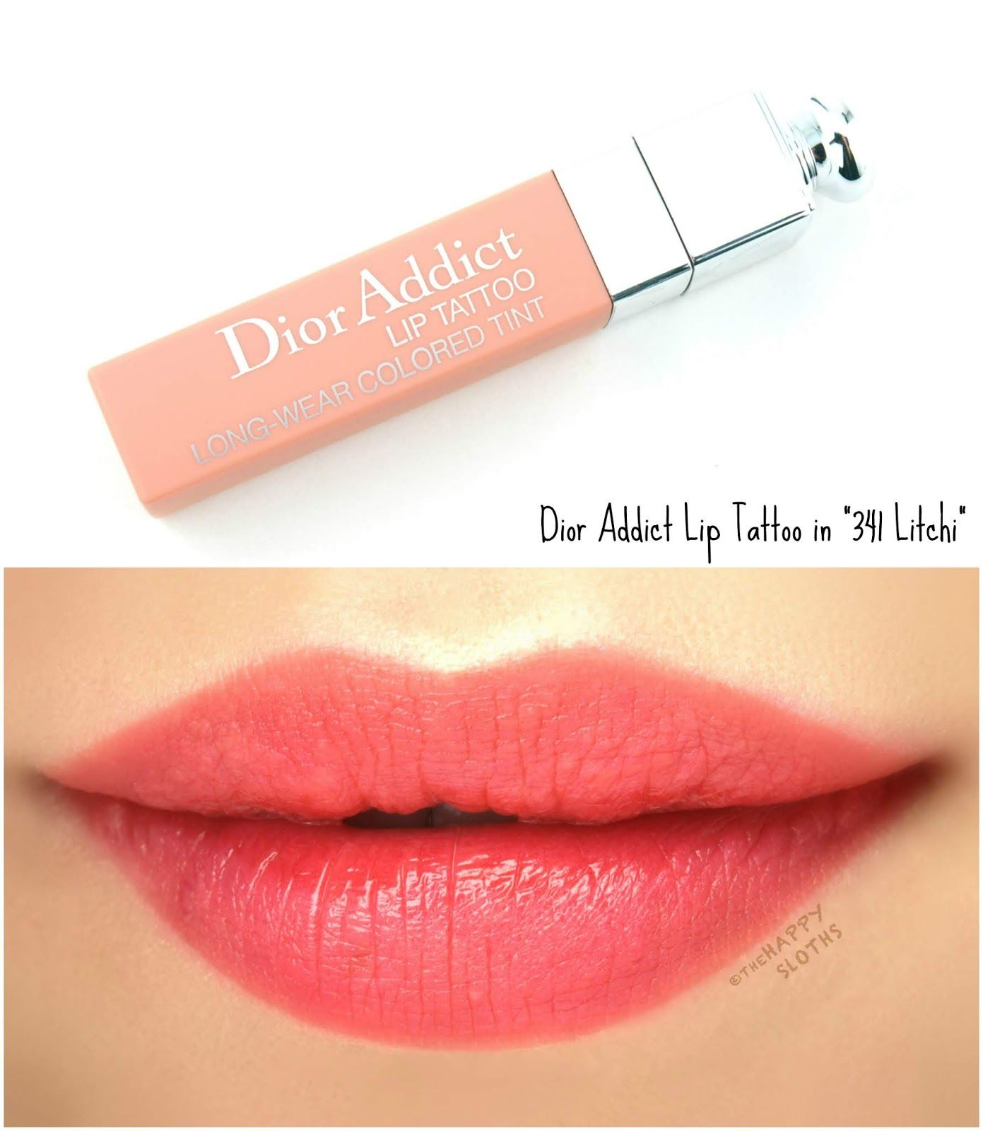 Dior Addict Lip Tattoo Color Juice Swatch