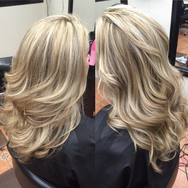 beautiful blondie stacks - platinum