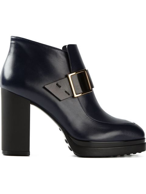 ef151dc17fc Tod's Hunky Heel Boots - O' - Farfetch.com | STOMPAZZ | Boots ...