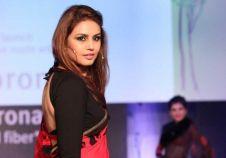 Huma Qureshi at the launch of DuPont-Sorona sarees in Delhi