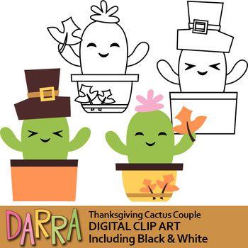 Thanksgiving Free Cactus Clip Art | Clip art, Cactus ...