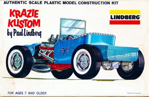 1920 S Ford Model T Krazie Kustom By Paul Lindberg 1 32 Fs