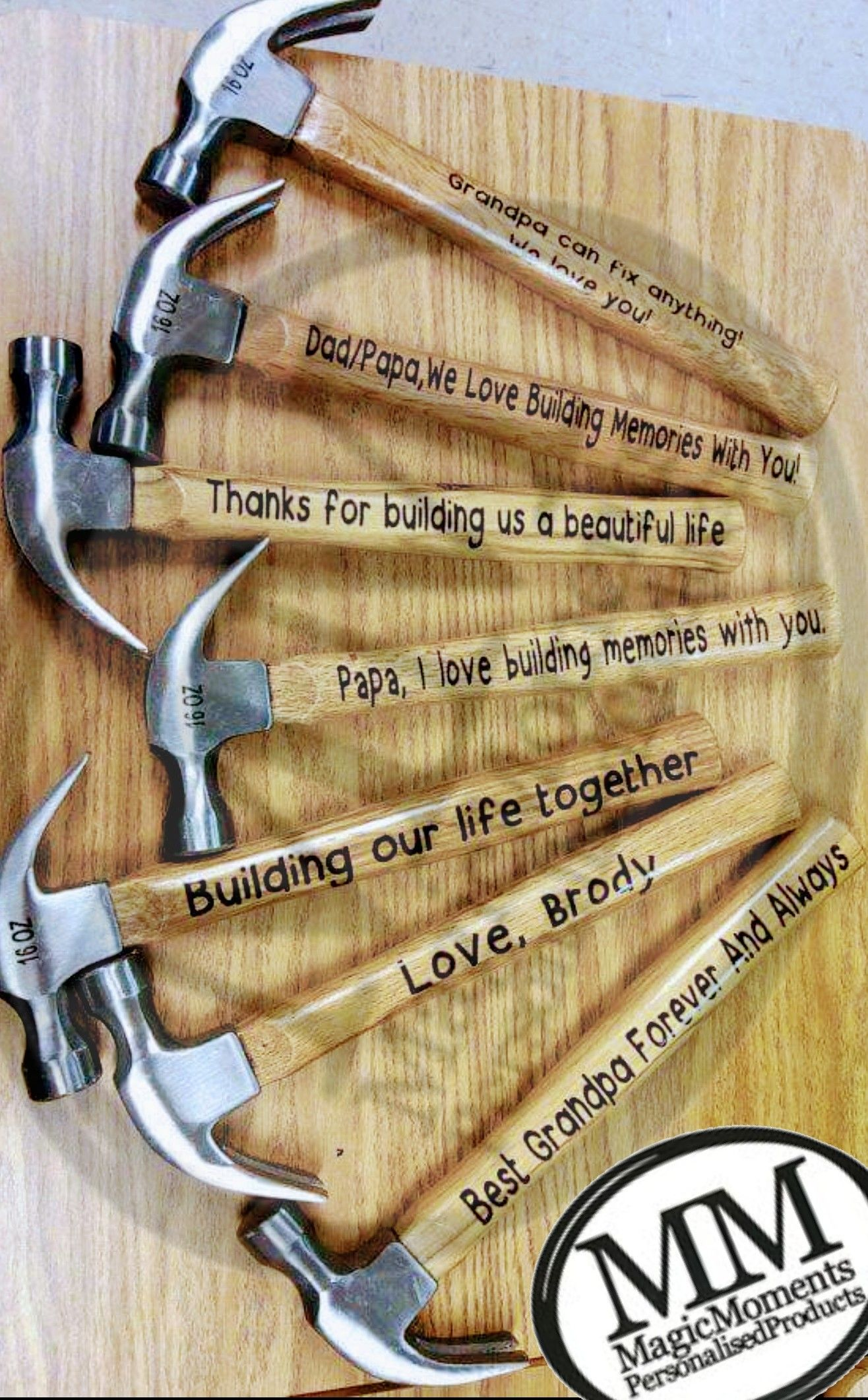 Father S Day Custom Hammers Diy Gifts For Men Father S Day Diy Vinyl Gifts