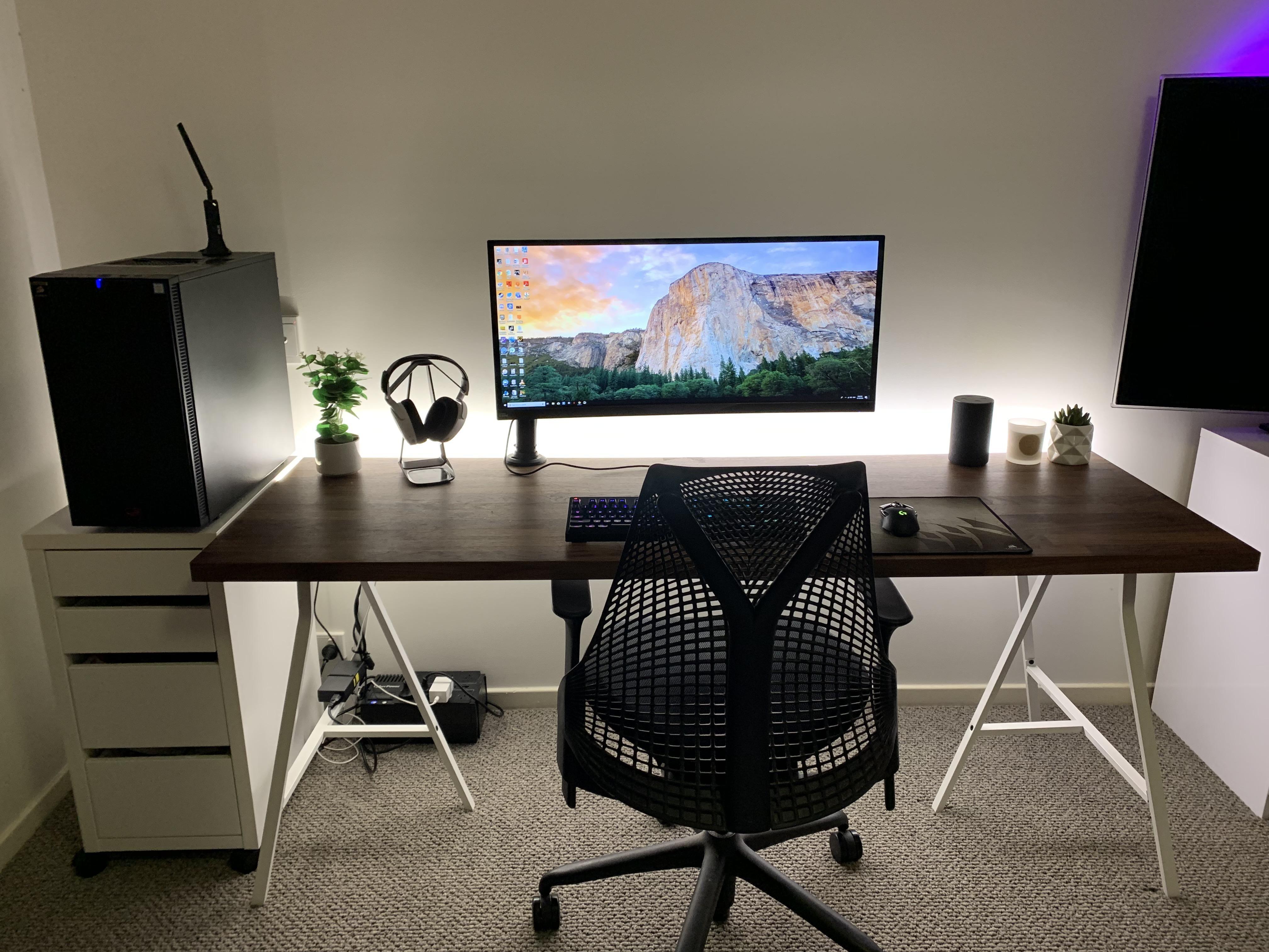 My Desk Desk Small Home Offices Desk Setup