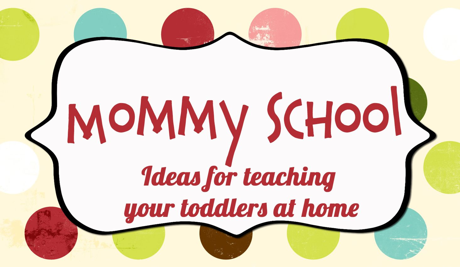 Mommy School Packet From Oopsey Daisy Blog