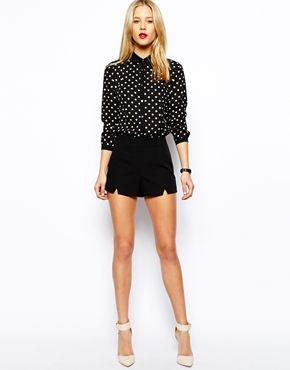 ASOS Tailored Shorts with Split Detail - $35.21 - FREE shipping ...