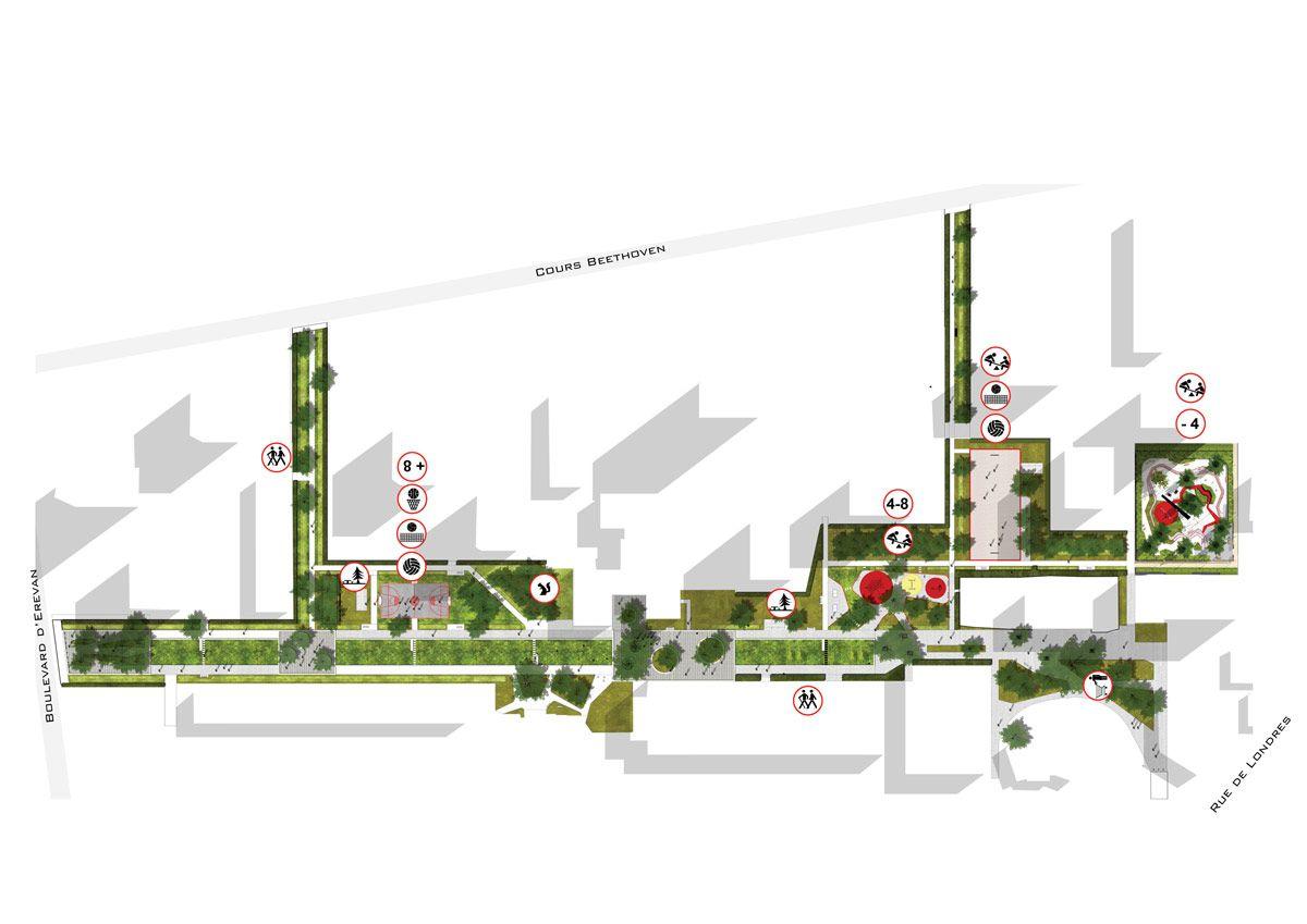 Spaces Rue De Londres docs2 « landscape architecture works | landezine | landscape