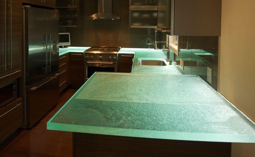 Glas Arbeitsplatte Great Kitchen Ii Think Glass Little Bit Of