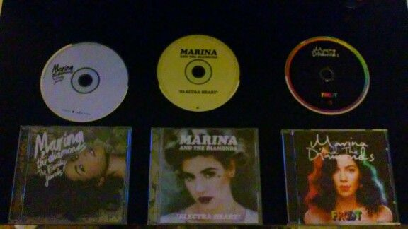 Marina And The Diamonds The Family Jewels CD Electra Heart CD ❤ FROOT CD