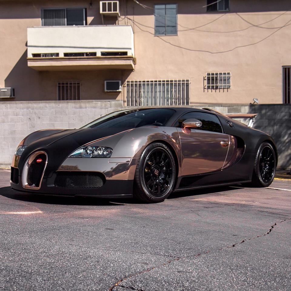 Bugatti Veyron Bugatti Bugatti Cars: Rose Gold Bugatti Veyron By RDBLA