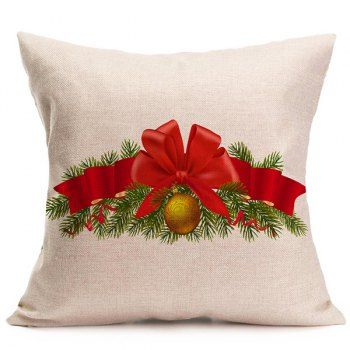 Christmas Bell Cushion Throw Pillow Cover For Home Christmas Cushions Throw Pillows Christmas Christmas Pillow Covers