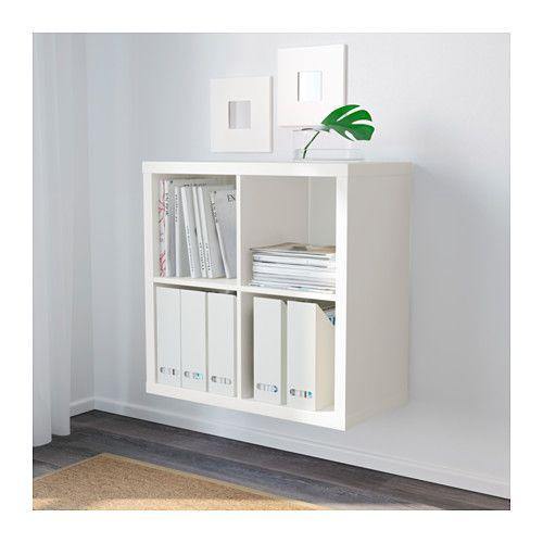 KALLAX Regal, Birkenachbildung Ikea regal, Arbeitszimmer und - ikea regale kallax einrichtungsideen