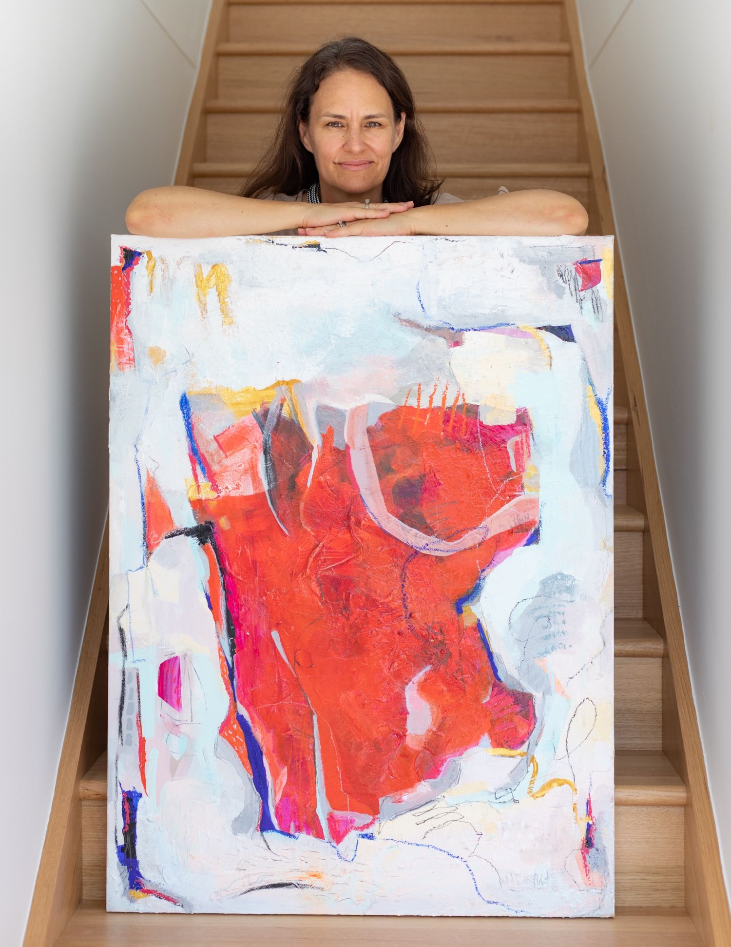 Large contemporary abstracts on canvas, available now at ...