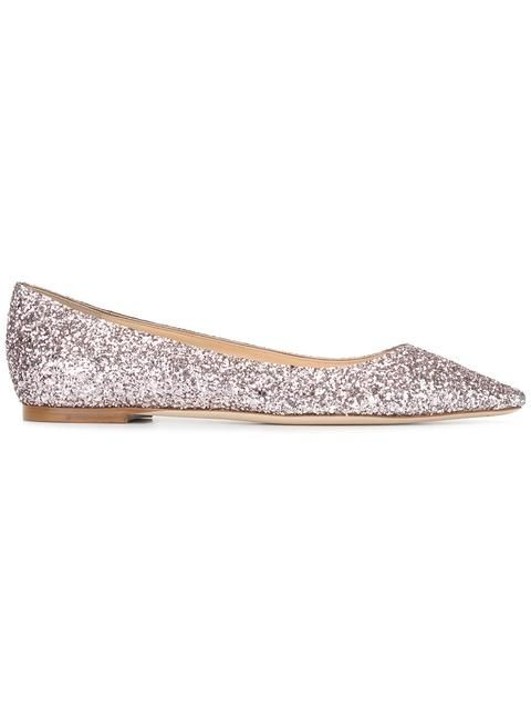 JIMMY CHOO Romy Ballerinas. #jimmychoo #shoes #flats