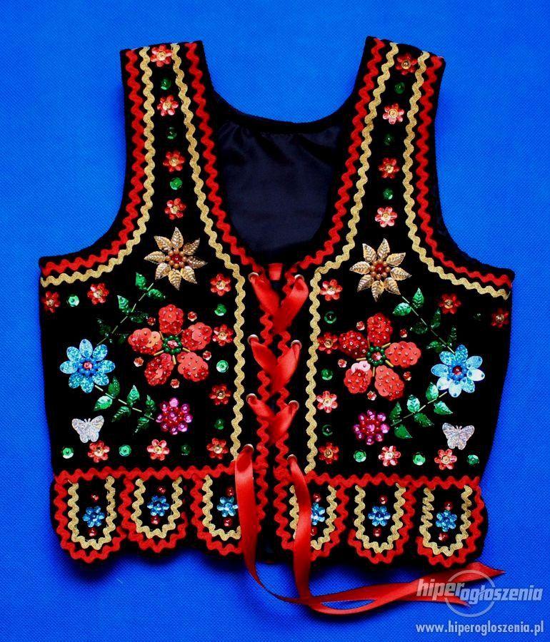 Gorset Krakowski Stroj Krakowski Nowy Ogloszenia Odziez Obuwie Kostiumy Embroidery Blouse Christmas Sweaters Embroidery
