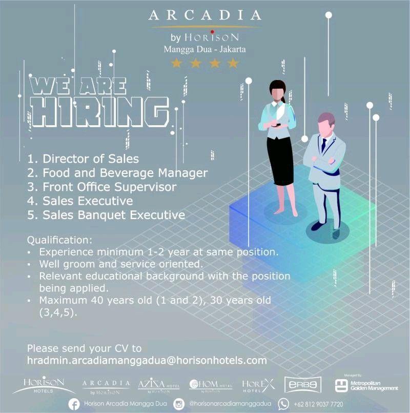 Arcadia By Horison Mangga Dua Jakarta Di 2020 Mangga