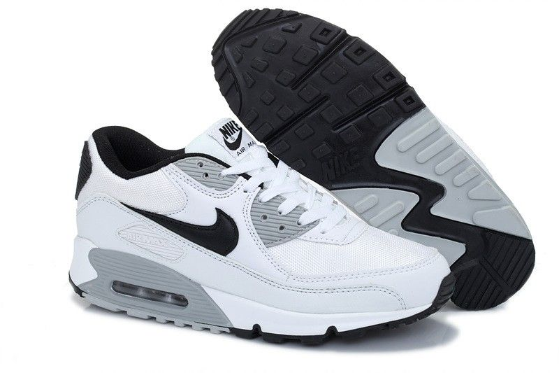 air max 90 essential gris noir et blanc