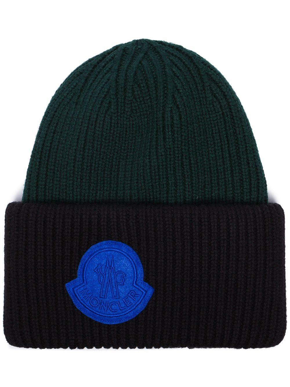 Moncler Moncler Virgin Wool Beanie Hat Black Moncler Wool Beanie Beanie Hats Beanie