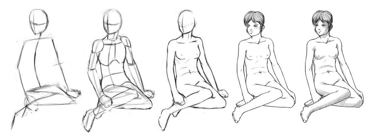The Human Body. Gesture Drawing. | Human | Pinterest | Mermaids ...