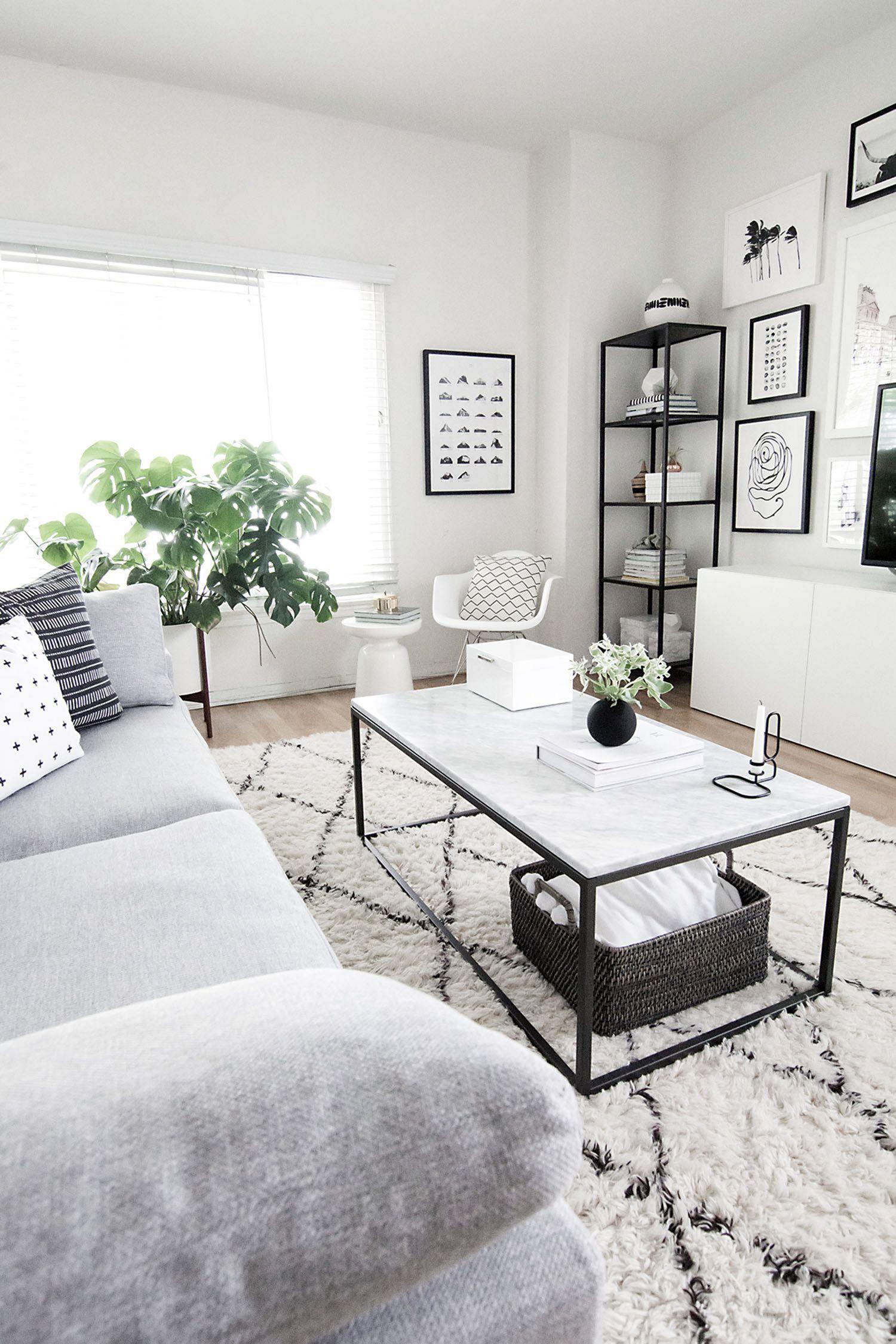 Beautiful minimalist home decor on a budget