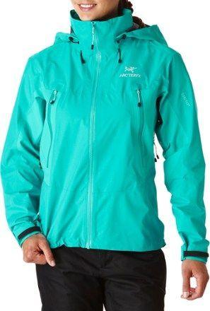 Arc'teryx Women's Beta LT Hybrid Rain Jacket Halcyon XS http://www ...