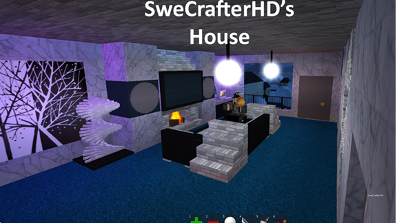 SweCrafterHD's House Pizza place, Roblox pizza