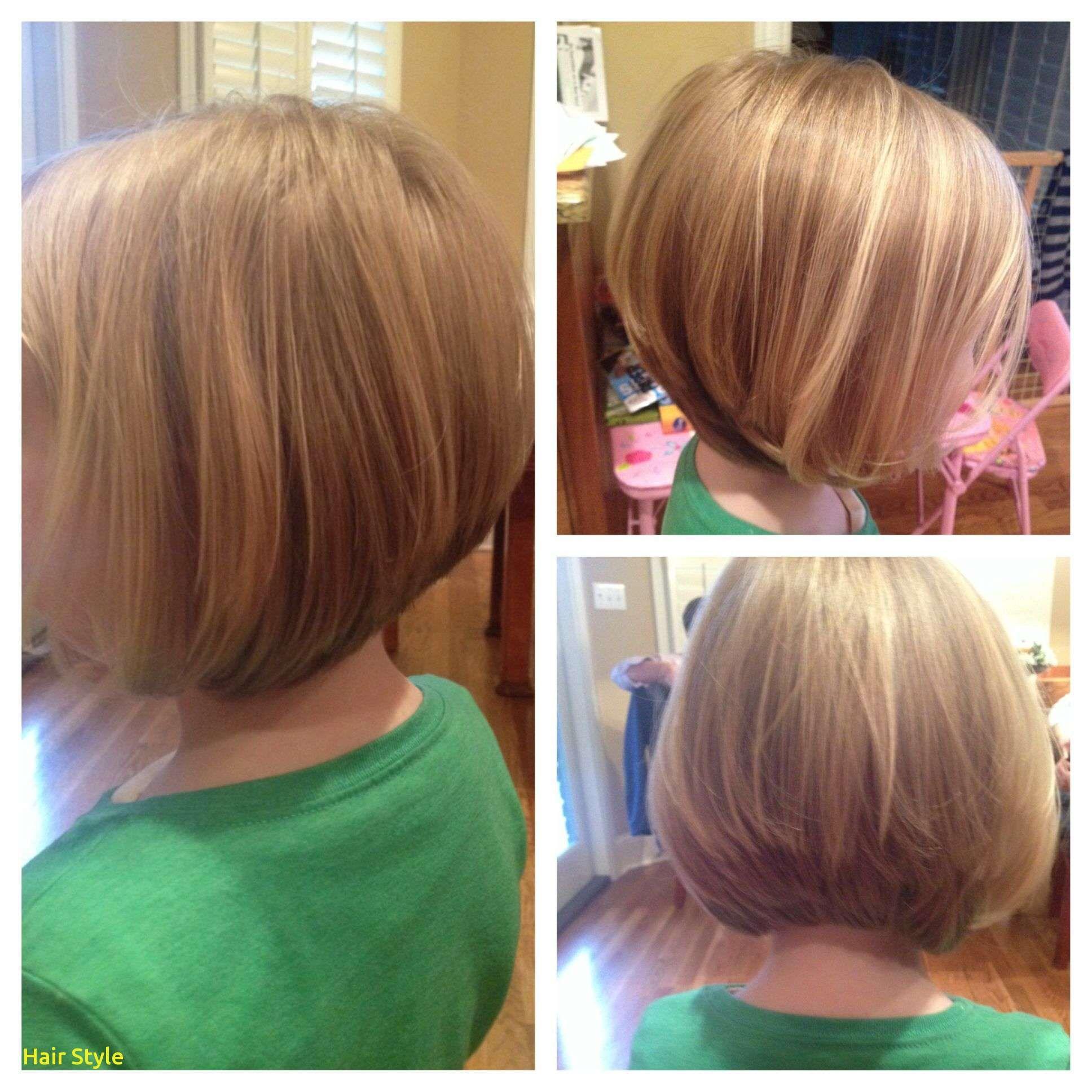 Frisches kleines Mädchen Bob Haircut mit Pony  Bob frisur