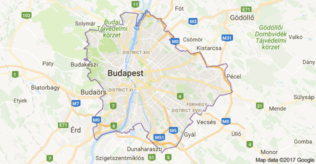 Map of budapest hungary travel pinterest budapest hungary and map of budapest hungary gumiabroncs Choice Image