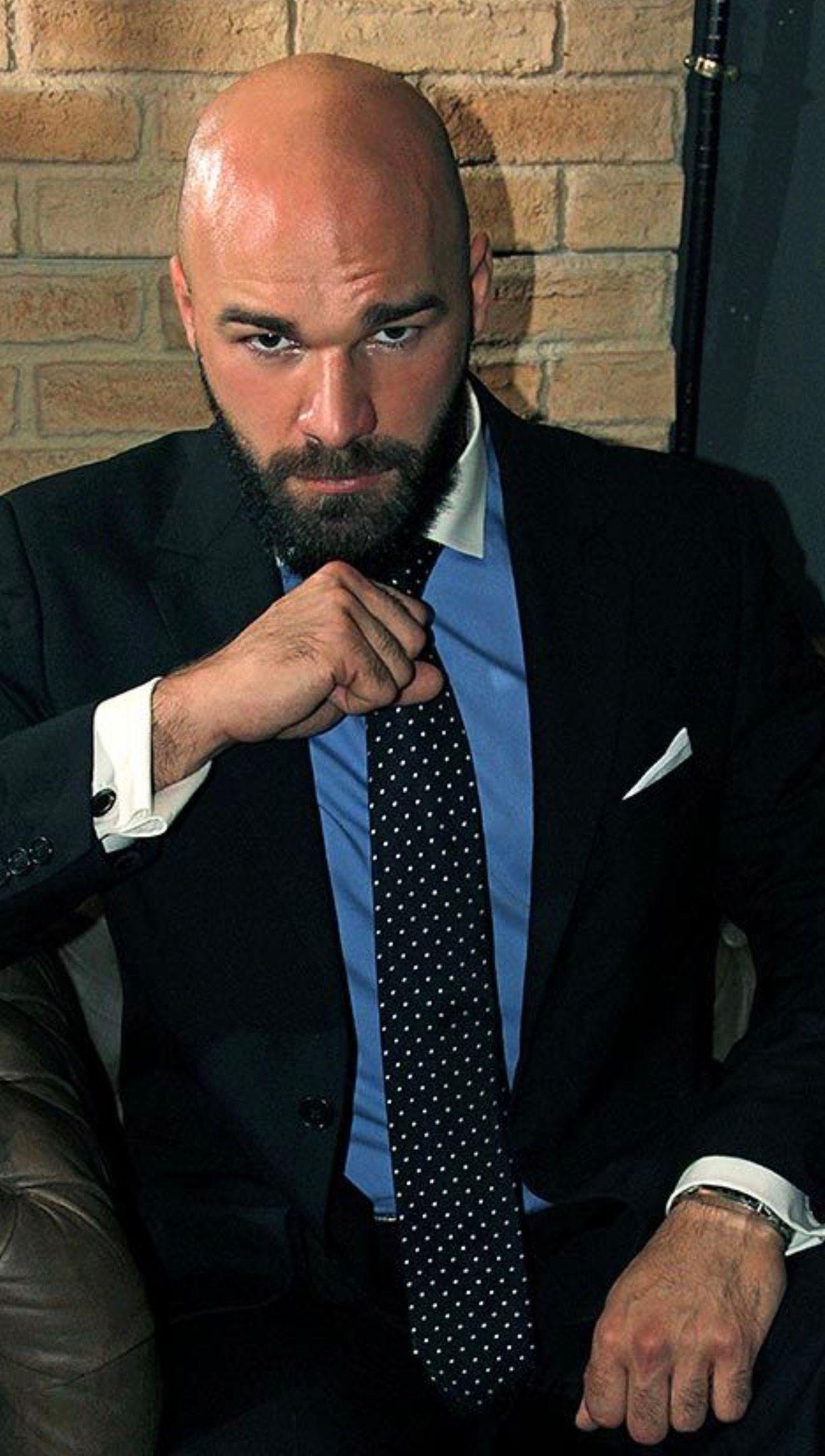 Max Duro Bald Men With Beards Bald Men Style Bald With Beard