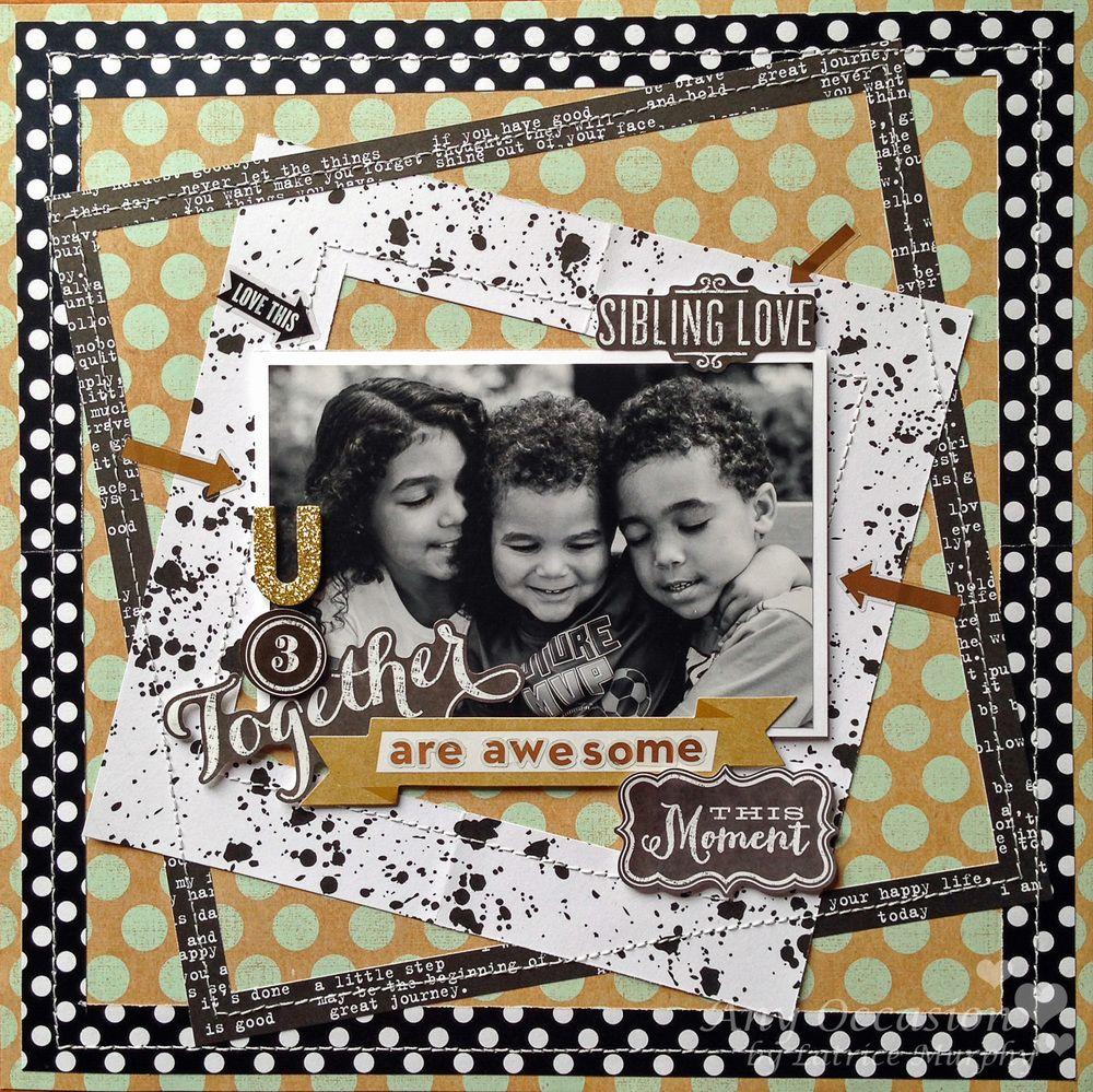 Family scrapbook ideas on pinterest - Hermanos