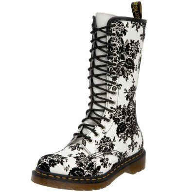 white dm shoes