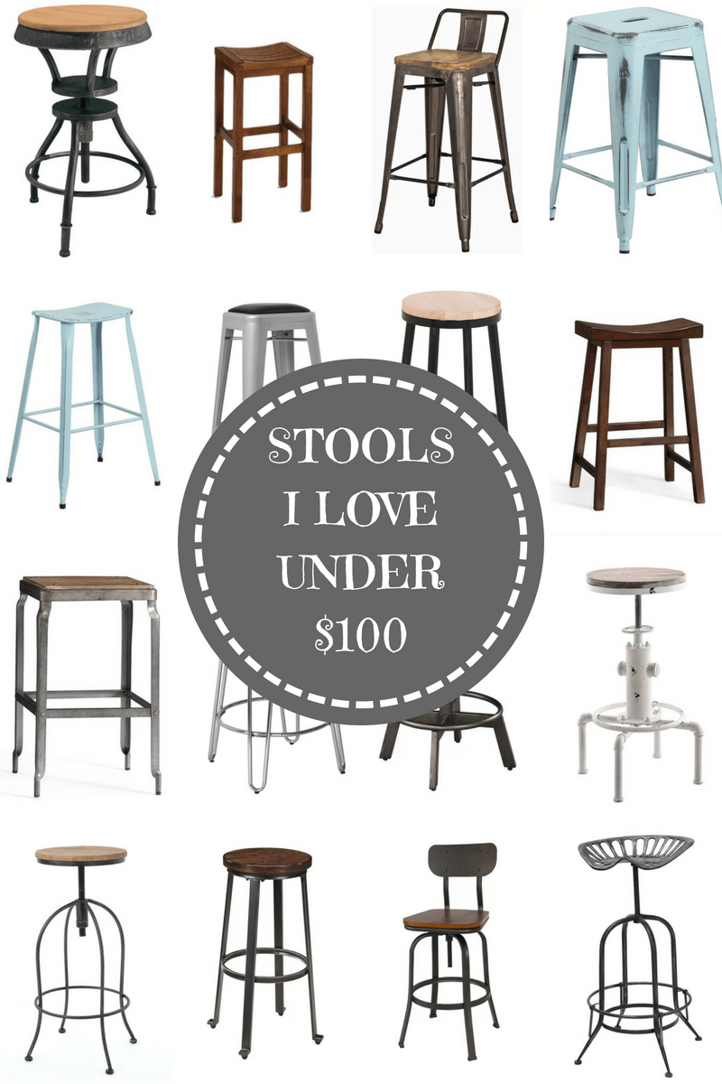 These Are My Favorite Bar Stools Under 100 Stool Farmhouse Stools Industrial Home Design