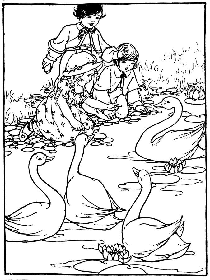 Children's Coloring Pages - Image 4