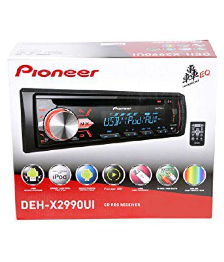 Deh x2990 ui single din car stereo