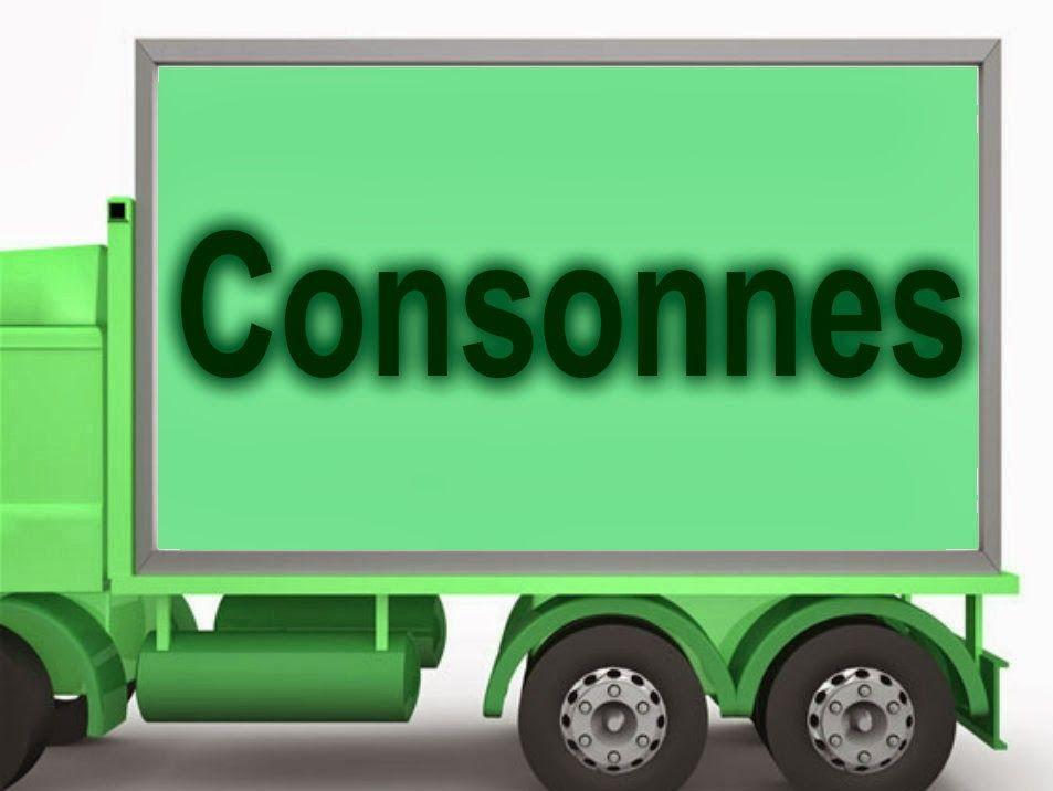 Consonnes et groupes consonantiques. Présentation et ...