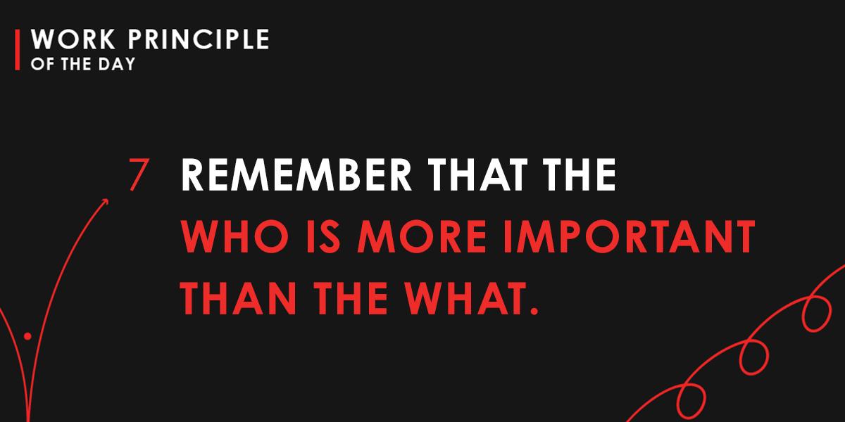 Work Principle 7