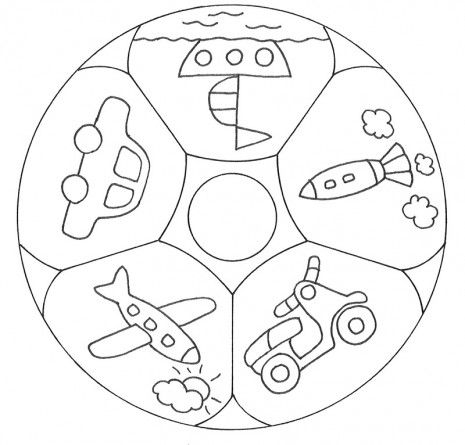 Mandalas Infantiles Google Search Mandalas Para Colorear Ninos