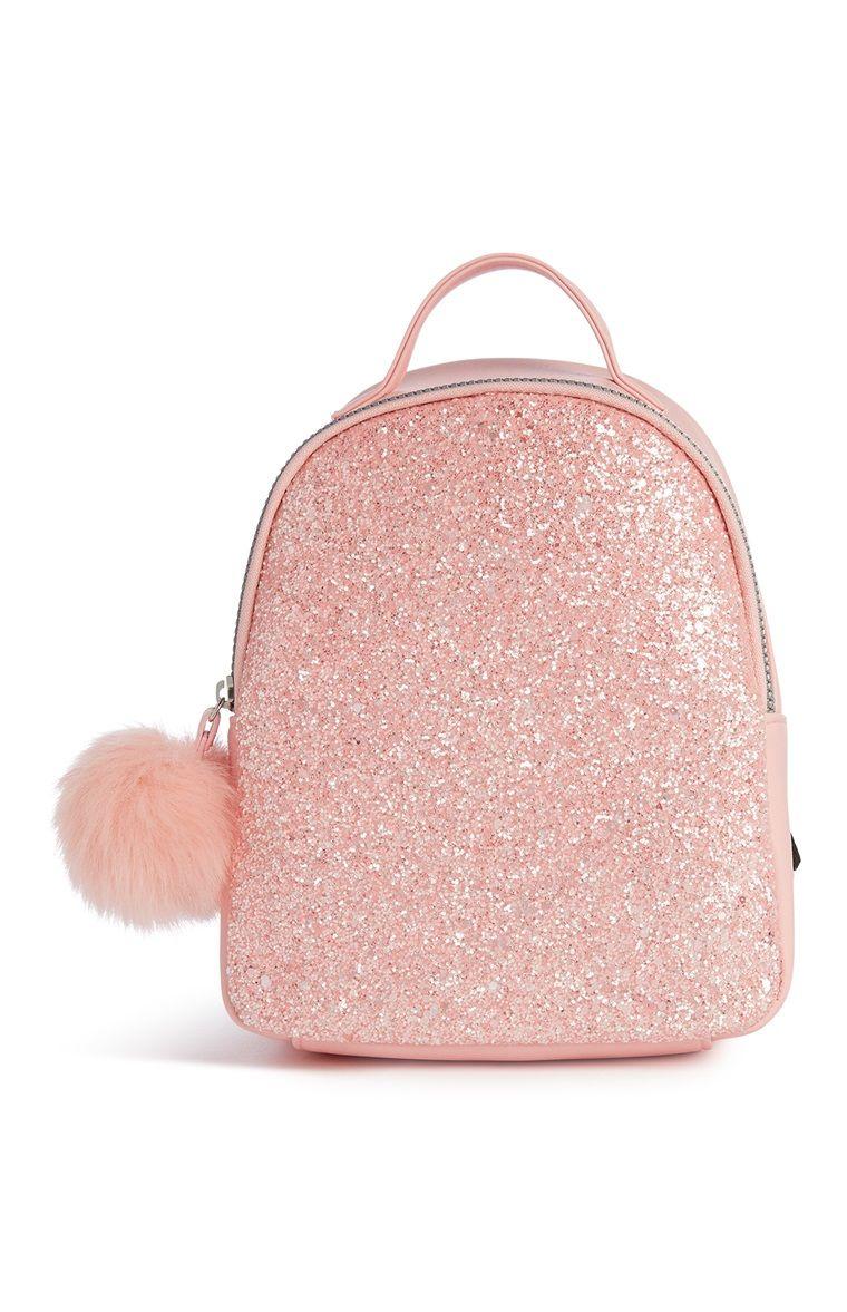 Primark Pink Glitter Backpack Mochila De Moda Mochilas Lindas