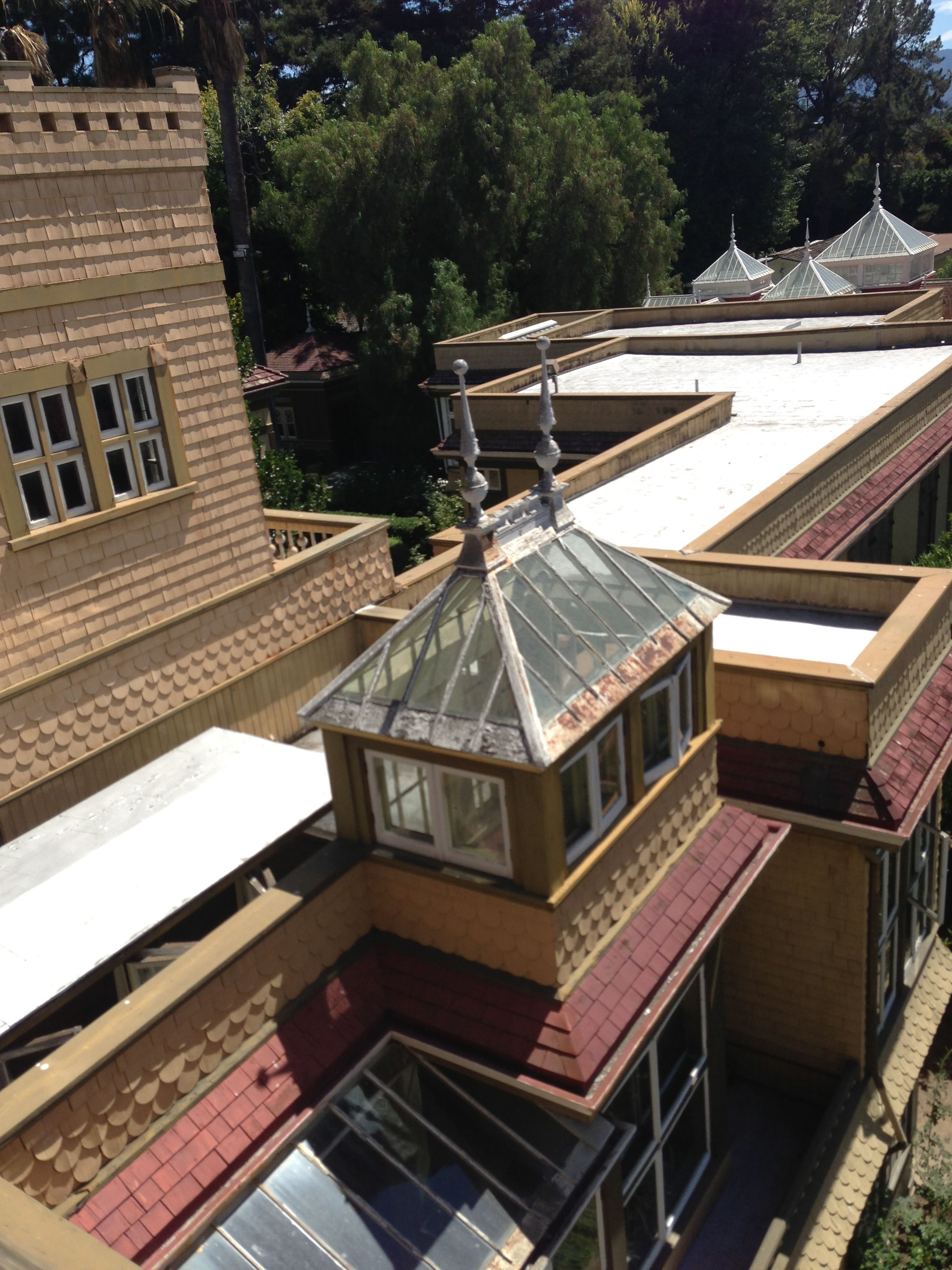 3rd floor Winchester Mystery House 9 1 13