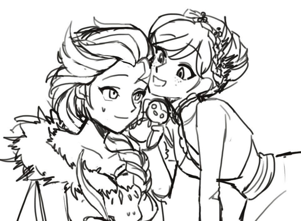 Pin By Frozenfan On Olaf S Frozen Adventure Frozen Coloring Pages Frozen Coloring Freezing Anime