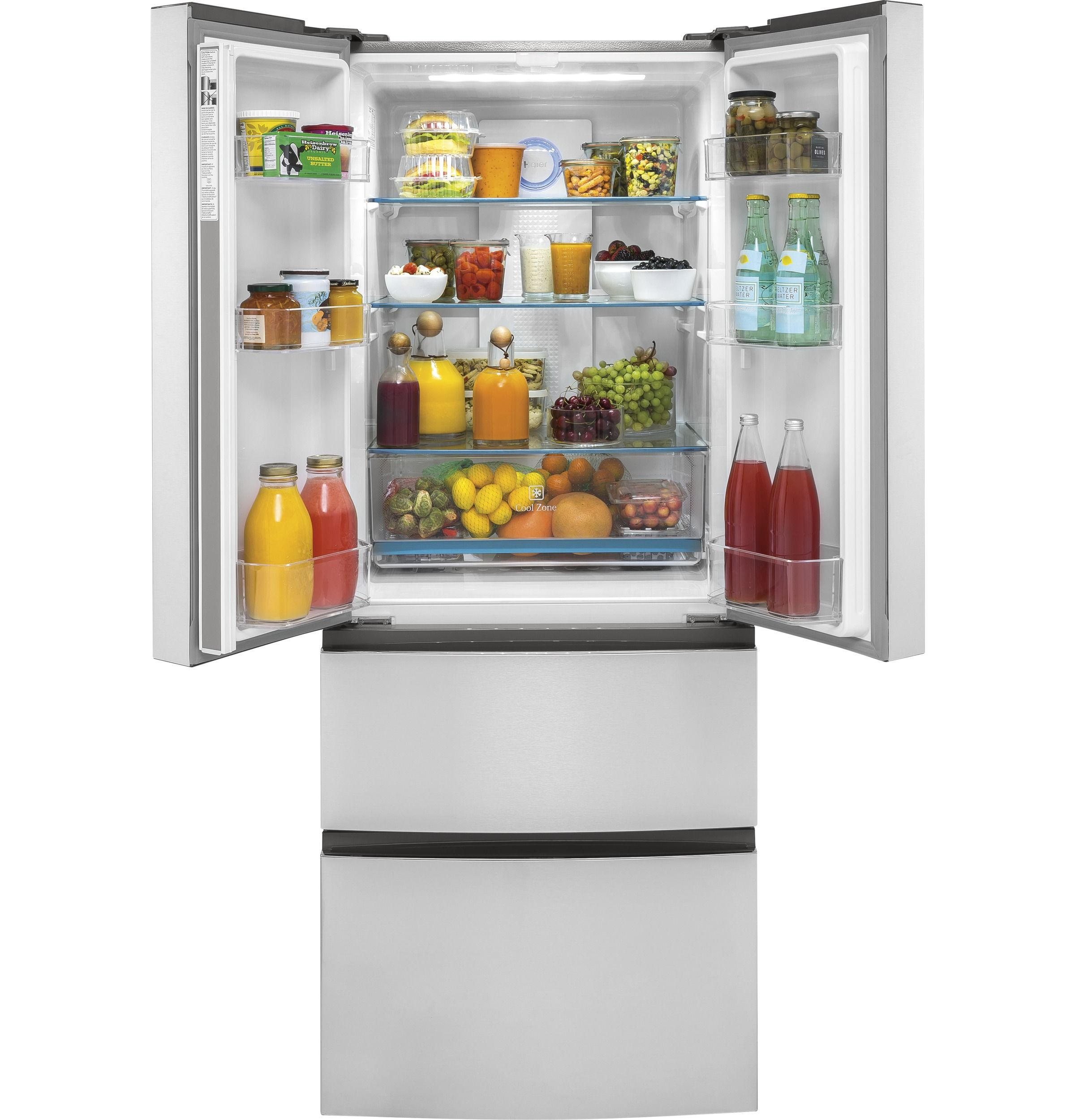 15 Cu Ft French Door Refrigerator From Haier Appliances This
