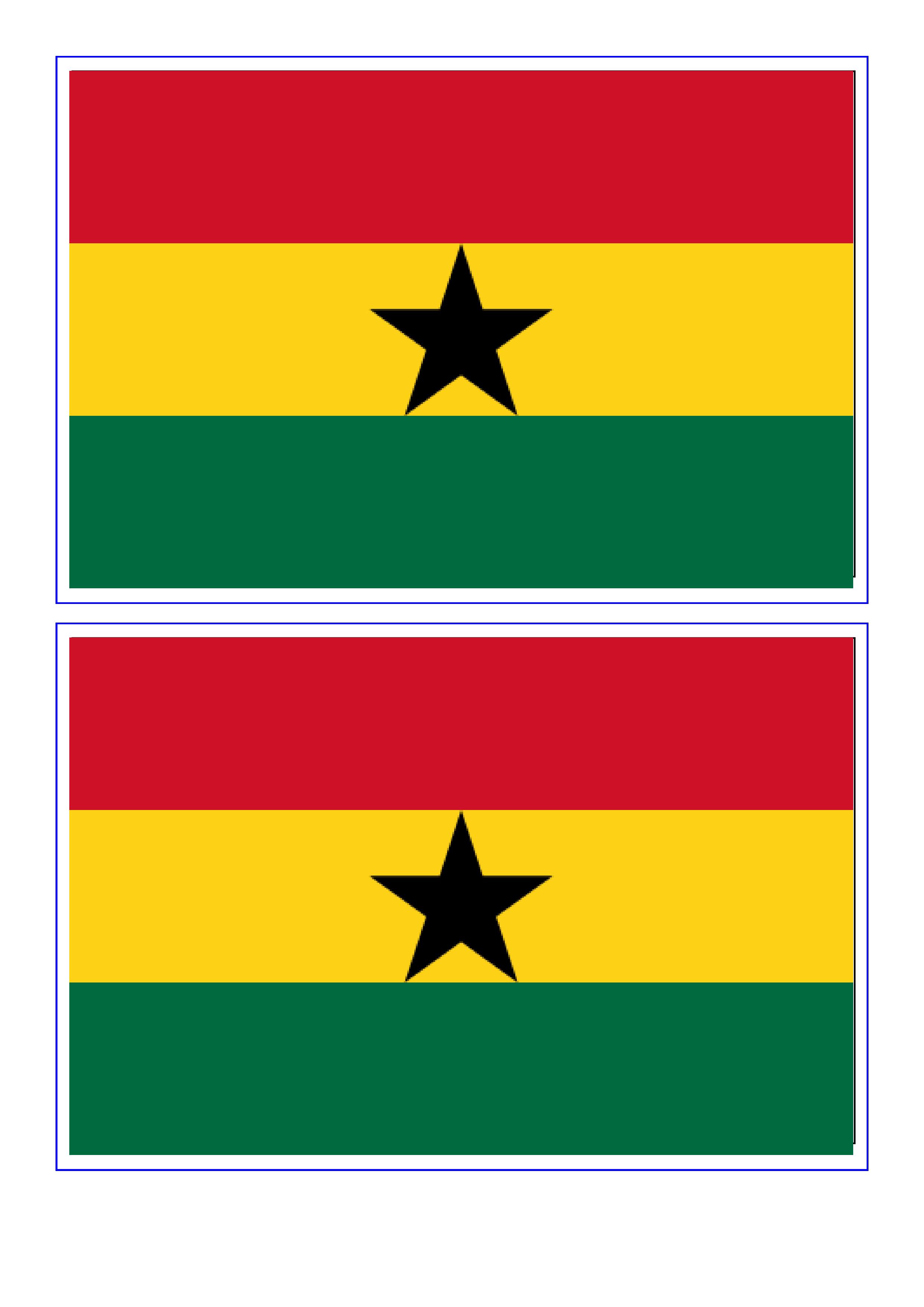 Ghana Flag Free Printable Ghana Flag Flag Printable Ghana Flag Missionary Farewell