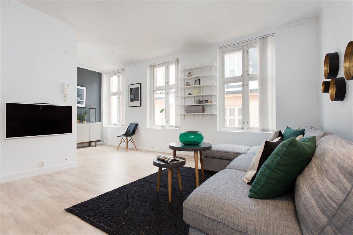 (1) FINN – GRÜNERLØKKA - Meget pen & arealeffektiv 1(2)-r leilighet i indre gård. Populær beliggenhet, nærhet til alt. Lave fkost
