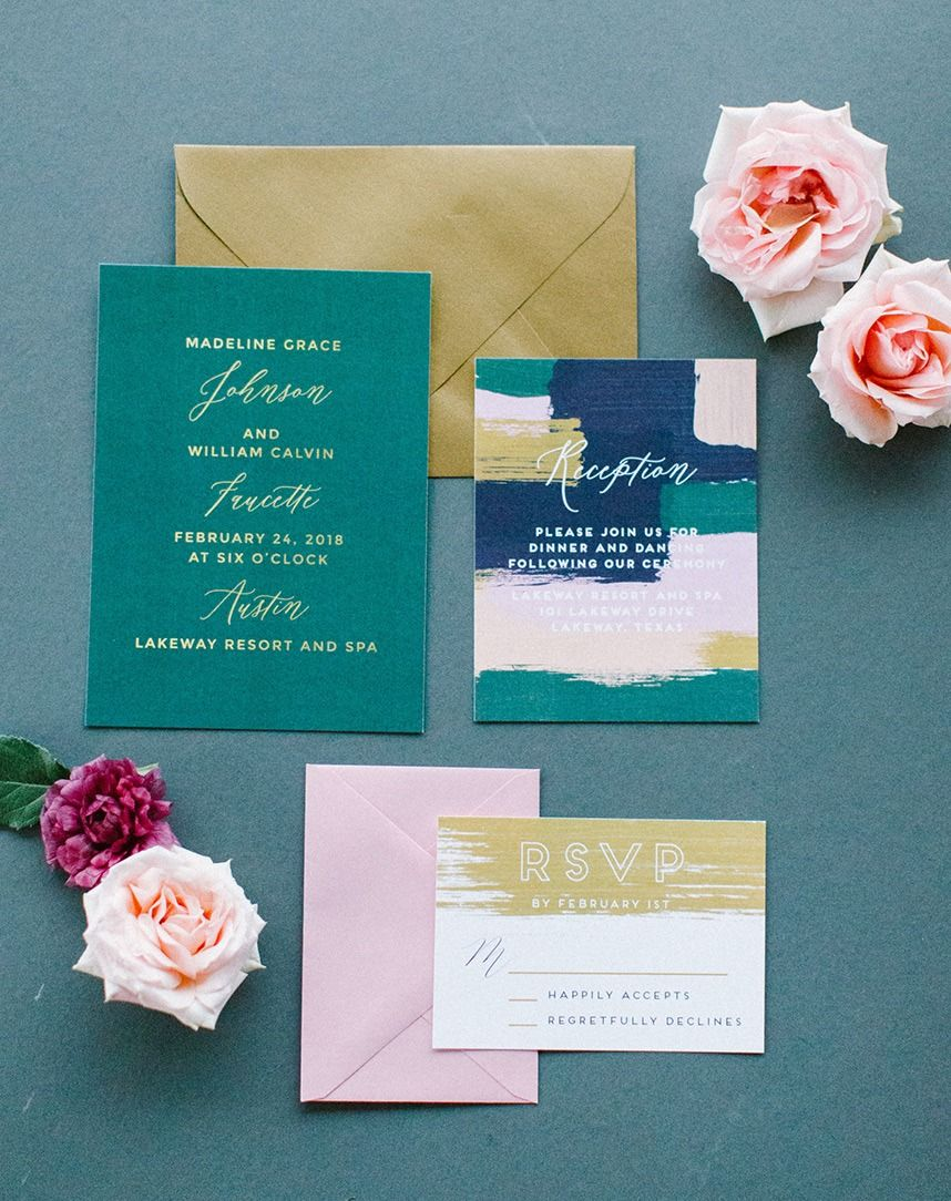 Meet the Mag Creatives: Austin Wedding Invitations | Invitation ...