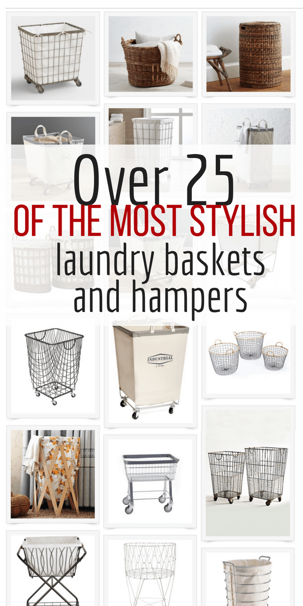 Best Sources For Farmhouse Style Laundry Baskets And Hampers Laundry Basket Laundry Decor Laundry Room Hamper